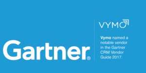 Vymo named a notable vendor in the Gartner CRM Vendor Guide 2017