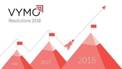 New Year Resolutions for Vymo : 2018